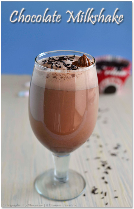Chocolate Milkshake Recipe
