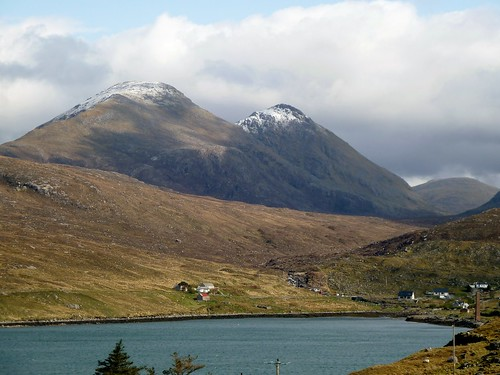 Snow-Capped Mountains on Harris