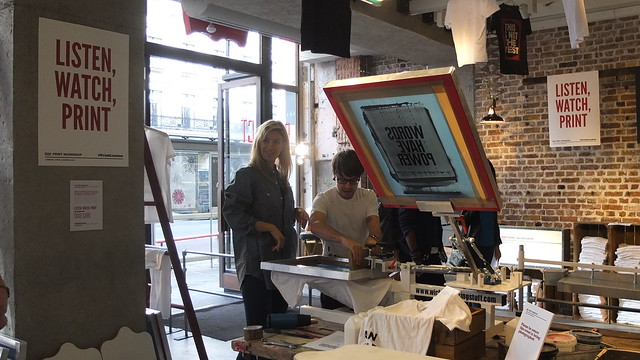 Levi's Print London Workshop with Anthony Burrill