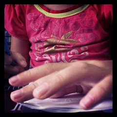 15/31: fingers #photoadayjuly