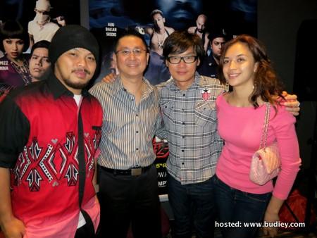 Namewee, Kenny Wong, Fred Chong, Diana Danielle