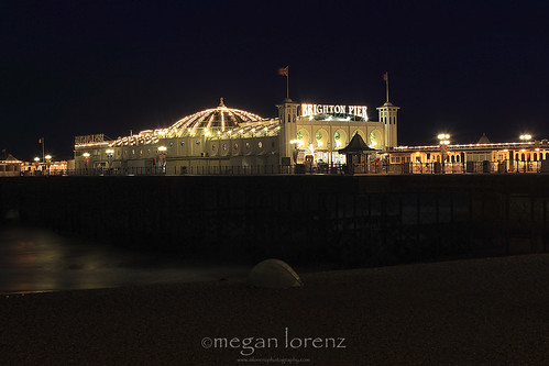 Brighton Pier by Megan Lorenz