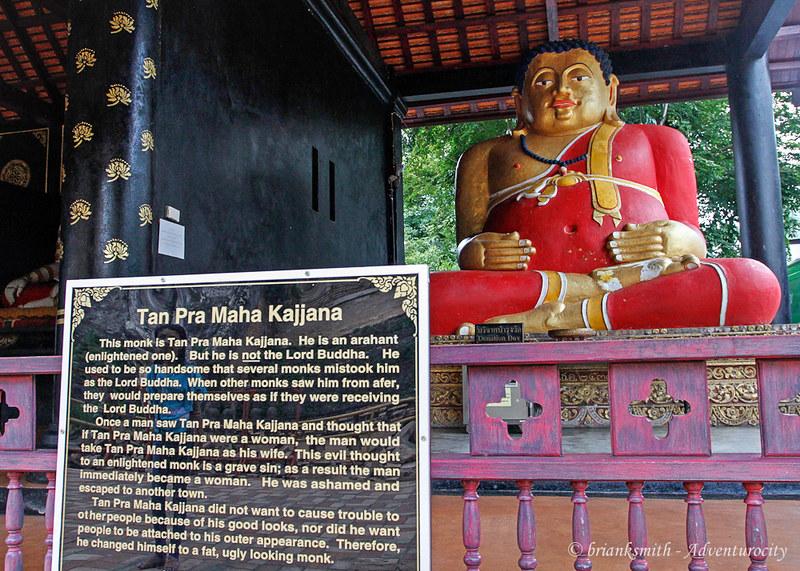 Tan Pra Maha Kajjana Statue, Chiang Mai