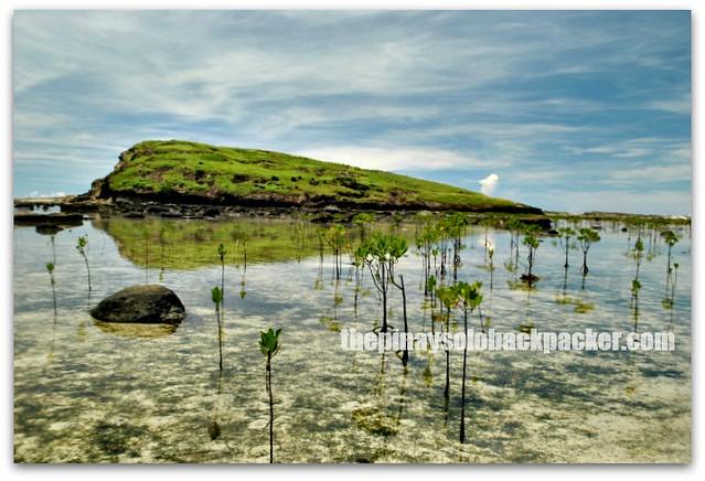 Biri Rock Formation at Biri Island, Samar