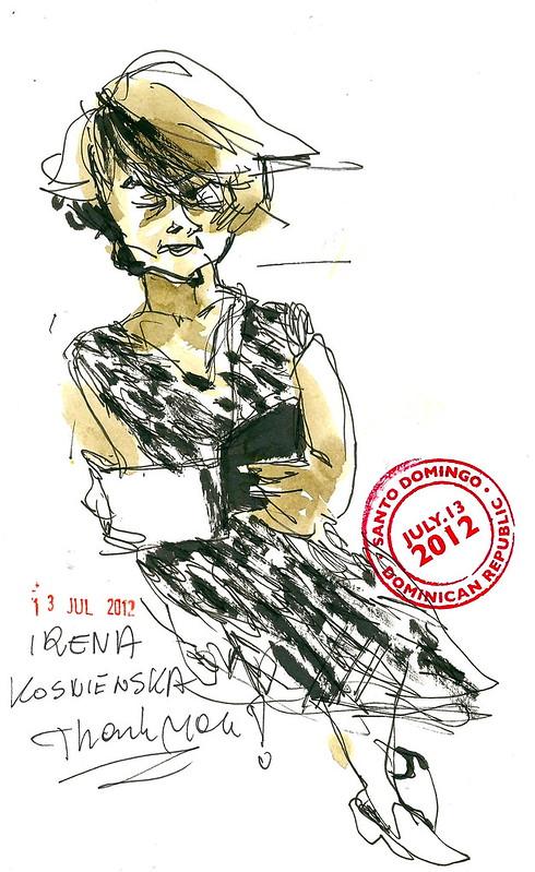 Dibujo Irena a 300