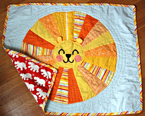 Solomon's finished quilt