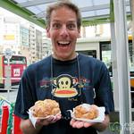 Dan is Excited for Beard Papa - Tokyo, Japan