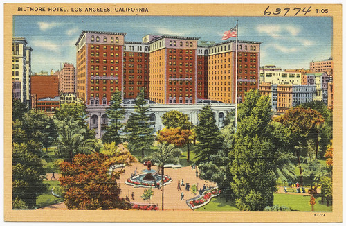 Biltmore Hotel, Los Angeles, California