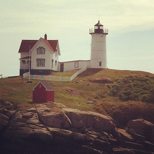 Nubble Light #maine #morning #lighthouse