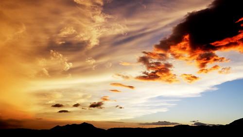 sunset sky clouds 日落 天空 觀音山 北投 雲彩 黃昏 火燒雲 explored 雲朵 mygearandme mygearandmepremium mygearandmebronze mygearandmesilver