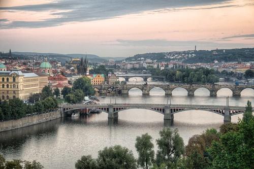 Prague on the Vltava