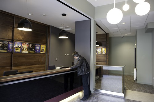 The new box office area in the King's theatre, Edinburgh. Photo © Peter Dibdin
