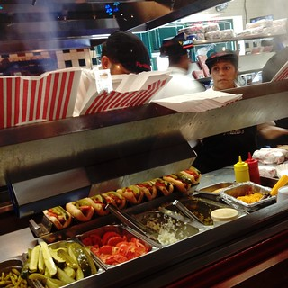 Portillo's assembly line
