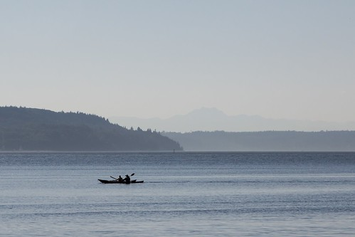 219/365 - Kayaking on Puget Sound by Meghan (Rambling On. . .)
