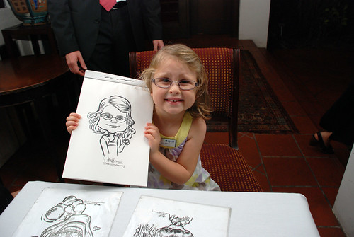 Caricature live sketching for Sycor 10th Anniversary Dinner -2