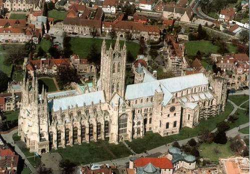 UK Canterbury Cathedral, St Augustine's Abbey, and St Martin's Church