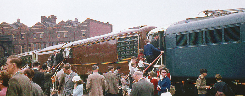 R00563.  GT3 in Marylebone Goods Yard. May,1961.