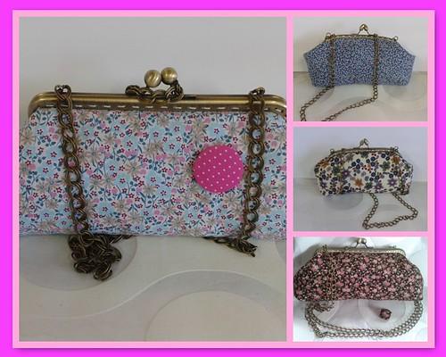 Clutch com Glamour by ♥Linhas Arrojadas Atelier de costura♥Sonyaxana
