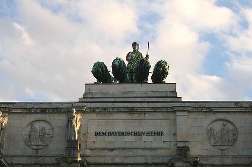 Dem Bayrischen Heere - Siegestor