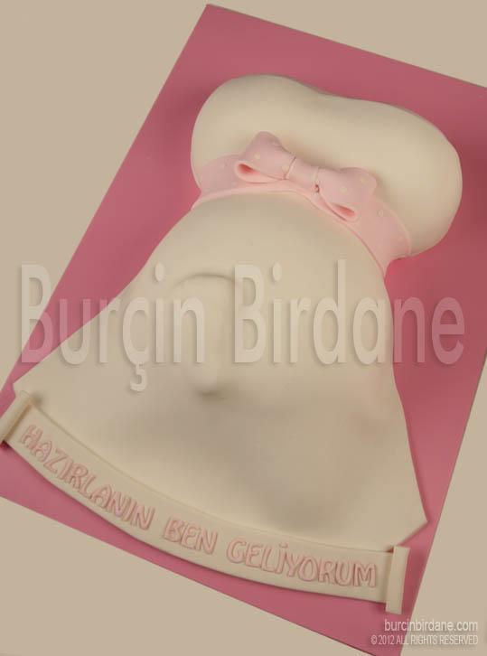 Pembe hamile pasta