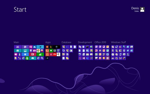 Windows 8 Layout