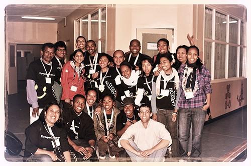 Une partie des volontaires durant l'Opération Smile Madagascar Août 2012