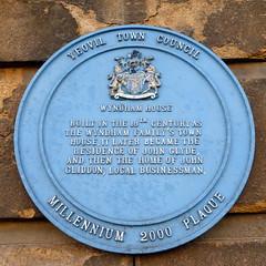 Photo of Wyndham House, John Glyde, and John Gliddon blue plaque