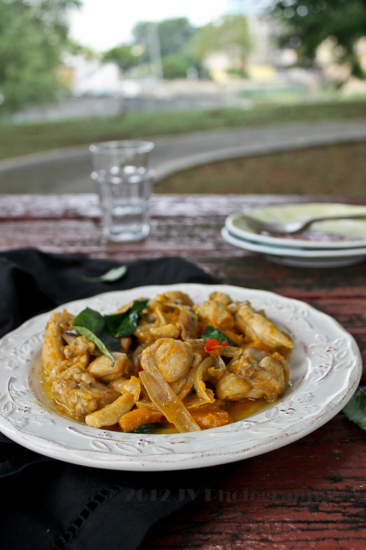 Chicken Pumpkin Stir-fry