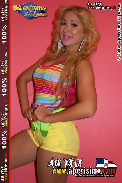 La sexy bailarina Marlene Suarez