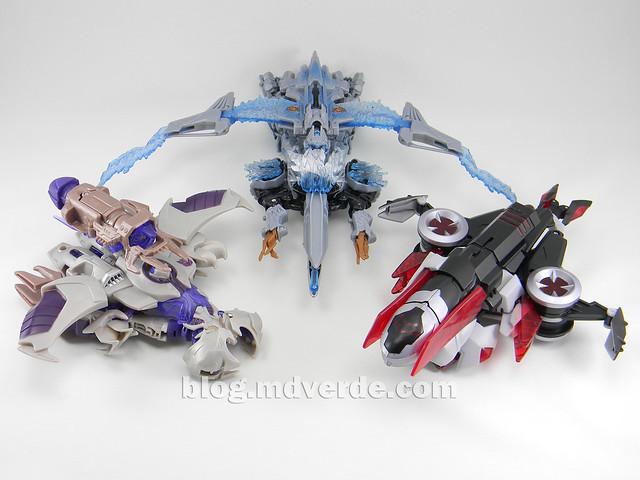 Transformers Megatron Voyager - Prime RID - modo alterno vs otros Megatron