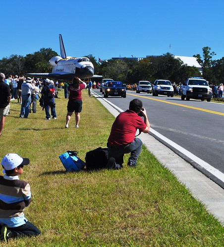 Space Shuttle Atlantis Making Her Final Journey, Kennedy Space Center, Nov. 2, 2012
