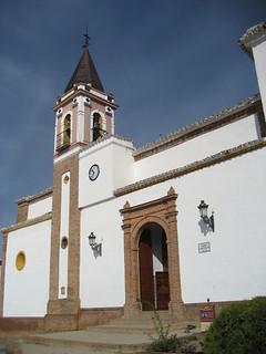 Iglesia Parroquial de Las Navas de la Concepción, del siglo XVIII.