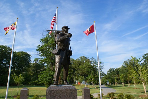 USCT Memorial Monument, Lexington Park