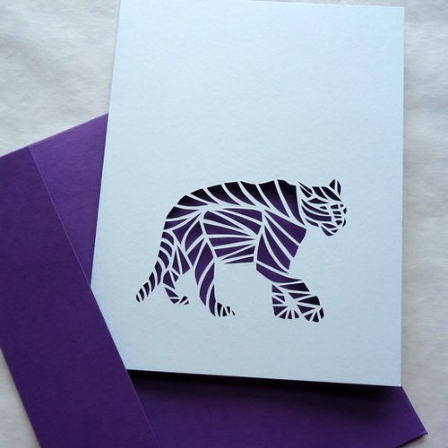 paper-cut-panther