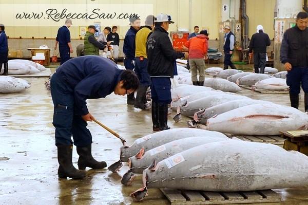 Tsukiji Market Tuna Auction - Tokyo Japan-022