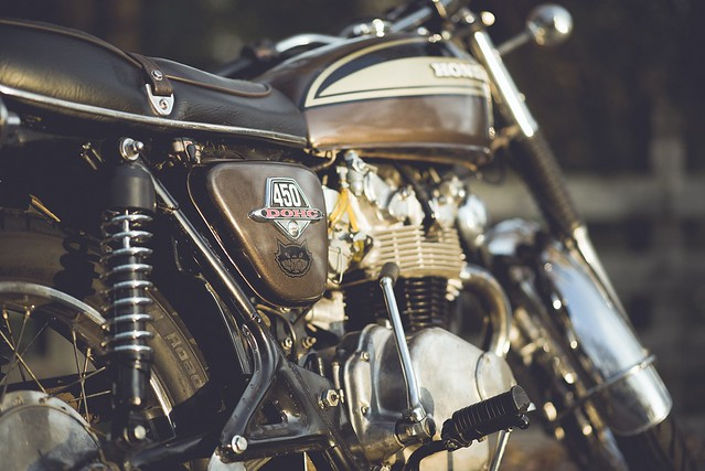 We Are Absolutely Thrilled To See My 1974 Honda CB450 K7 Supersport Featured On What Is Arguably The Most Prolific Custom Motorcycle Blog Web