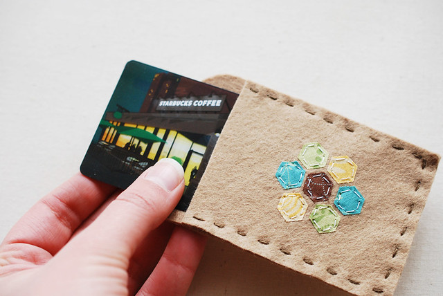Hexie Card Holder