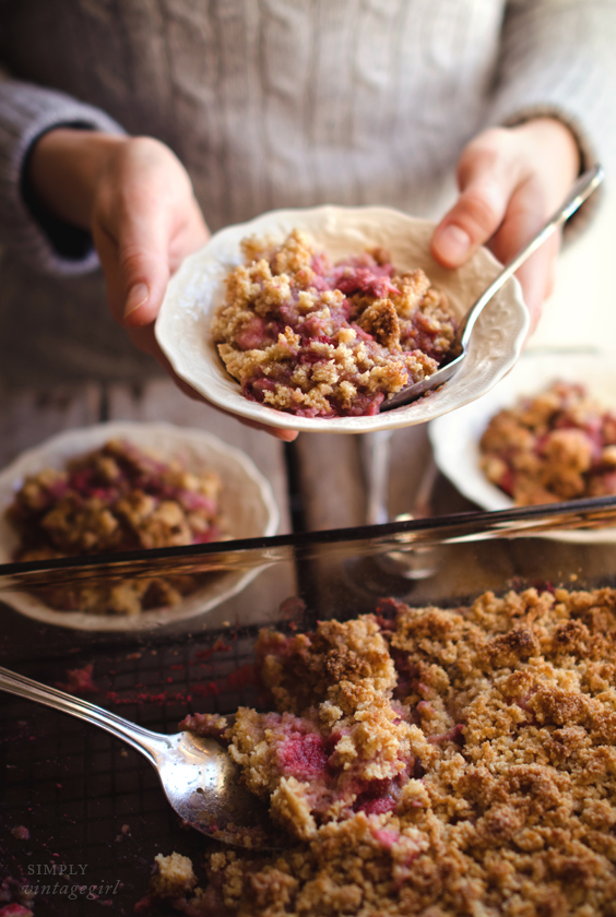 Baked Berry Crisp Recipe (S)