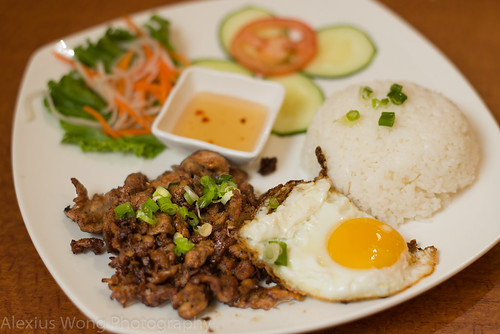 Grilled Beef and Fried Egg