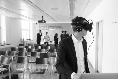 Florian in der Virtual Reality