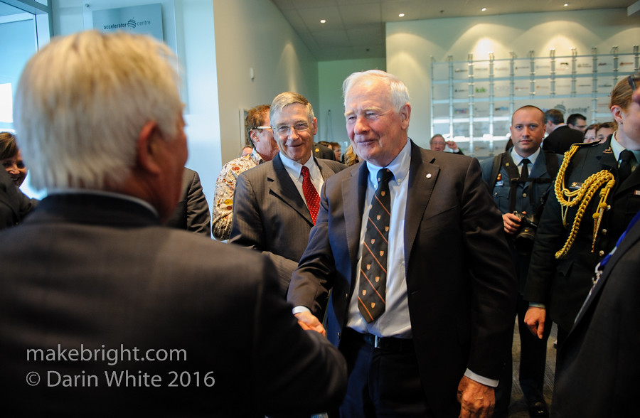 Governor General David Johnston at the AC - May 2016 459