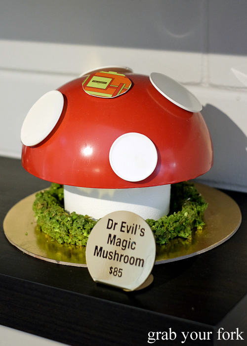 Dr Evil's Magic Mushroom gelato cake at Gelato Messina HQ, Rosebery