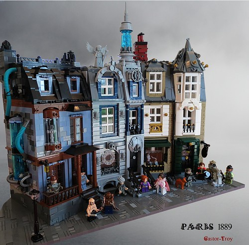 Paris 1889 Steampunk [Wip 1] The Blue Meth, The house of time and The rats exterminators
