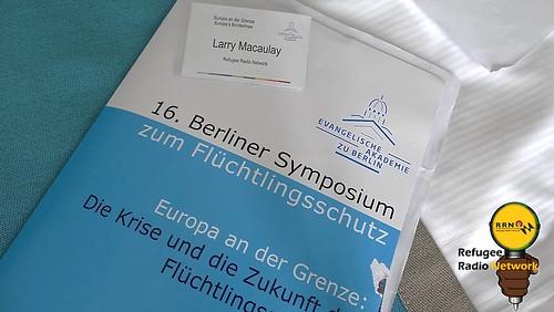 16. Berliner Symposium zum Flüchtlingsschutz