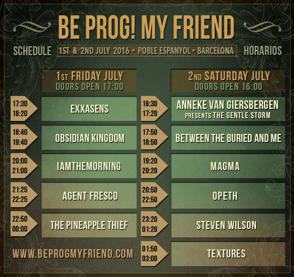 Schedule-Be-Prog