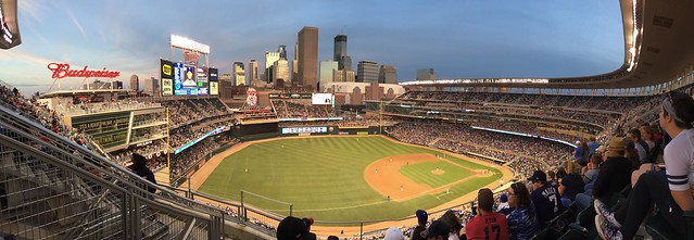 Twins game at Target Field