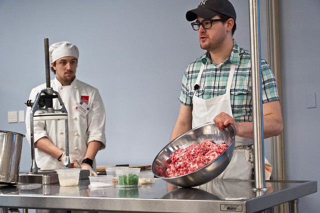 Rob Levitt Butchering and Sausage Demo