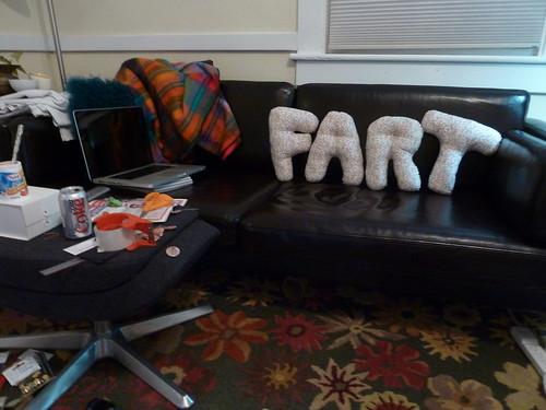 FART pillows
