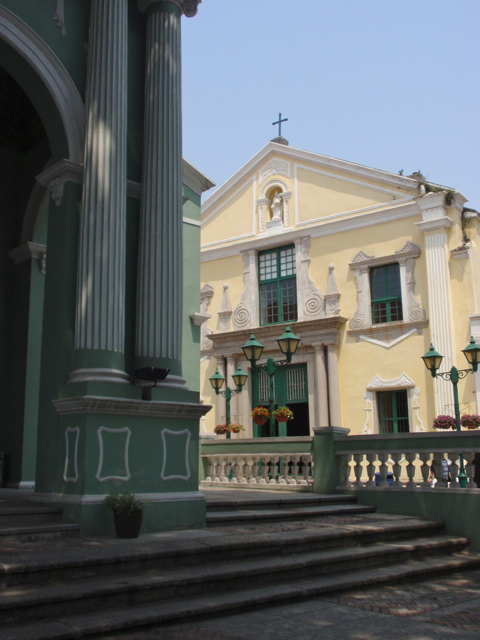 Dom Pedroo V Theatre and St Augustine's Church