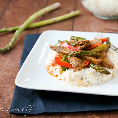 Beef & Asparagus Curry